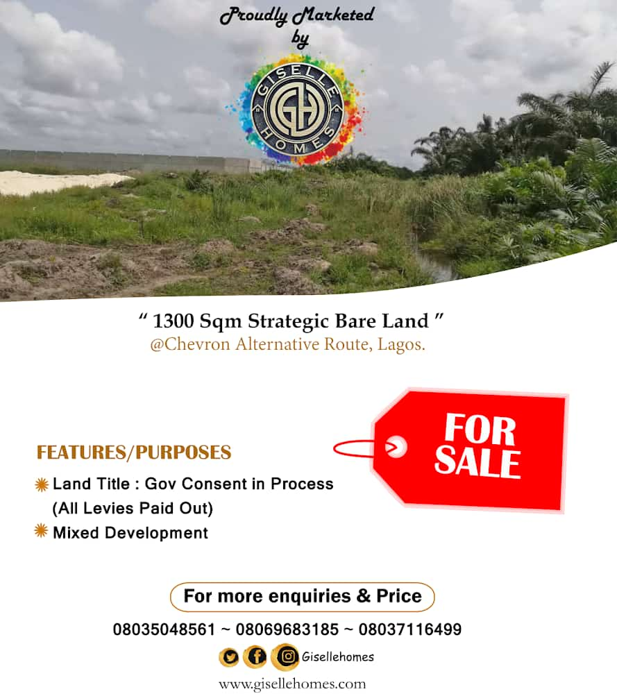 1300 Sqm on Chevron Alternative Road , Chevron