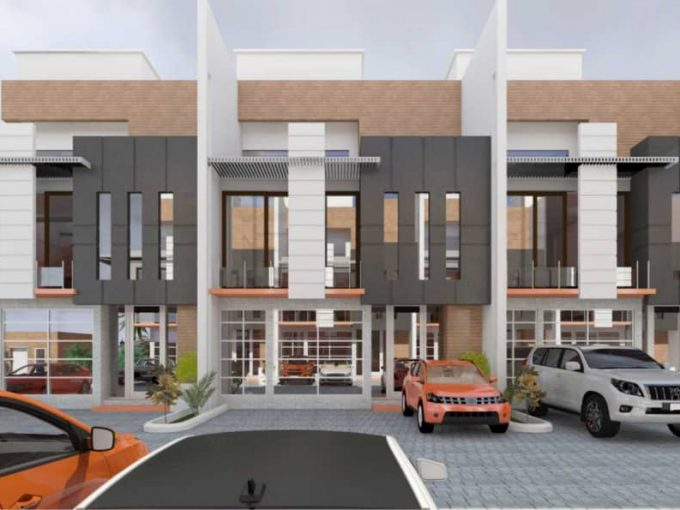 On Going Project of Luxuriously Built Brand New 14 Units of 4 Bedroom Terraces in IKATE