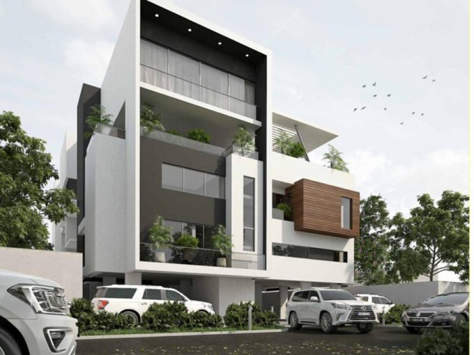 Off Plan Project of Luxurious 4 Units of 3 Bedroom Maisonette with a Room BQ